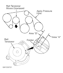 2002 lexus es 300 serpentine belt routing and timing belt diagrams rh 2carpros