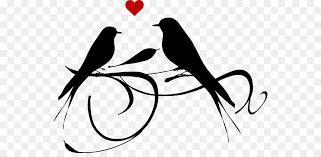 lovebird clipart silhouette. Simple Silhouette Lovebird Clip Art  Birds Wedding Cliparts With Clipart Silhouette I