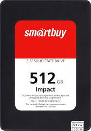 SSD <b>диск SMARTBUY</b> 2.5 <b>Impact</b> 512 Гб SATA III 3D TLC SBSSD ...
