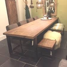 Esstisch 160 X 90 Cm Mango Massivholz Metallgestell Tisch