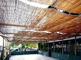 outdoor roll up bamboo shades for patio gazebo home depot shades