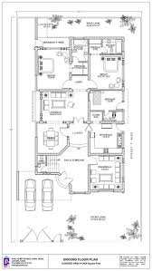 House Design Ground Floor Plan 500 Square Yard House Design Has 6 Bedrooms Modern Family