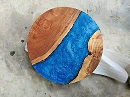 resin round coffee table top 24