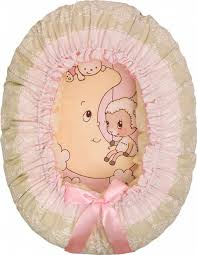 Детская <b>подушка</b>-<b>валик гнездо Золотой</b> гусь Овечка на луне ...