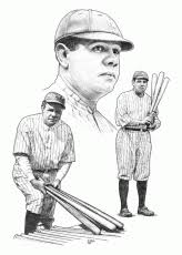 Small Picture Babe Ruth Coloring Page Coloring Home
