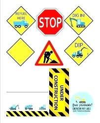 Printable Construction Signs Printable Construction Signs Printable Construction Signs