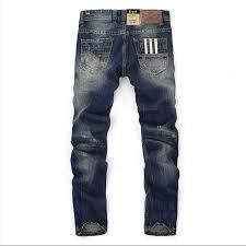 Famous Balplein Brand <b>Fashion Designer Jeans Men</b> Straight Dark ...