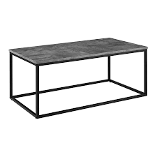 walker edison mixed material coffee table