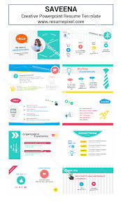 Cover Letter Resume Powerpoint Template Curriculum Vitae
