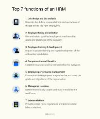 hrm functions top 10 functions of an hrm