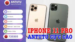 SỐC với iPhone 11 Pro Max hơn 720.000 điểm Antutu cao nhất Thế Giới -  YouTube