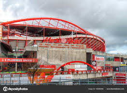 Stadium Of Light Benfica Eagle Sculpture At The Entrance Of Benfica Stadium In Lisbon