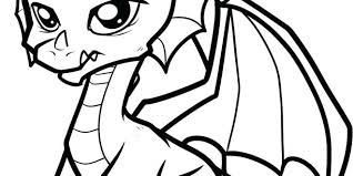 Baby Dragon Coloring Pages Cute Baby Dragon Coloring Pages Free