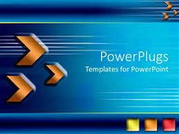 Blue And Orange Powerpoint Template Blue Orange Powerpoint Templates W Blue Orange Themed