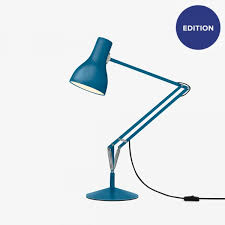 type of lighting. Type Of Lighting. 75 Desk Lamp - Margaret Howell Saxon Blue Edition Lighting