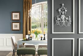 Wonderful Dining Room Paint Ideas With Accent Wall Painting Cool Relaxing Colors Inside