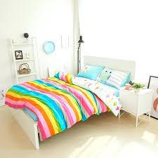 owl bedding whole cotton rainbow owl bedding set cartoon modern flower fl twin queen size stripe owl bedding