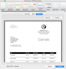 start winning at billing billings pro mac appstorm whether it s invoices or estimates there s an attractive range of templates available to make them