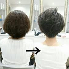 くせ毛を活かす乾燥しボワッと広がりやすい髪でもくせ毛ショートボブ