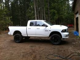white dodge ram lifted. Interesting Lifted Lifted Dodge Ram 2013 2016 To White