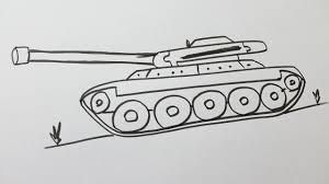Comment Dessiner Un Tank Youtube