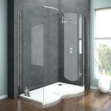 walk in shower half wall cool walk in shower remodel ideas half wall image of contemporary no medium size walk in shower with glass block wall