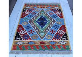 turkish area kilim rug konya 3 5 x 4 8