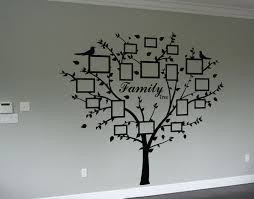 ... Home Design : White Family Tree Wall Decal Decks Decorators white  family tree wall decal with ...