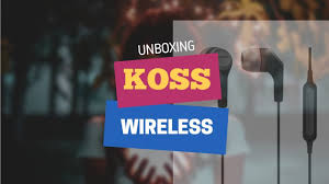<b>Koss BT115i</b> Wireless Bluetooth Unboxing - YouTube