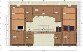 custom home office cabinets. Wall Cabinet Office. Home Office Custom Cabinets Elevation S