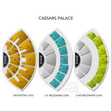 Cosmopolitan Las Vegas Seating Chart Caesars Palace A Seating Guide For The Premier Las Vegas