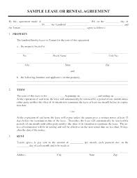 One Page Lease Agreement One Page Lease Agreement Template South Simple Tenancy Temp