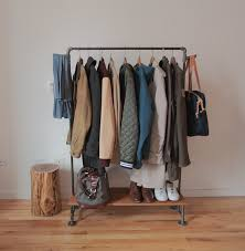 How To Make A Coat Rack Impressive How To Make A DIY Industrial Coat Rack Curbly