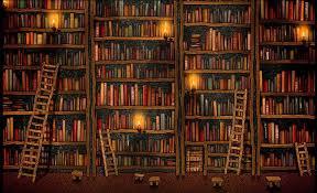 Bookshelf Wallpaper On Wallpaperget Com
