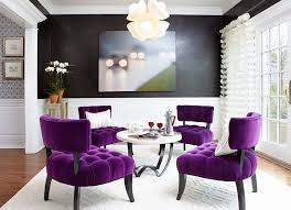 Small Picture Interior Decor Bright Pink Purple Chairs For Living Room