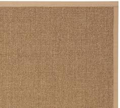 color bound earth sisal rug chino pottery barn