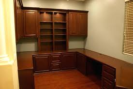 custom home office desk. Custom Made Office Furniture After Home Installed Cabinets In . Desk O