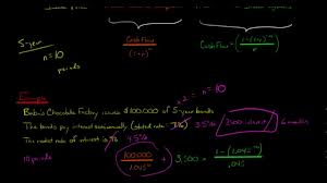 Bond Proceeds Calculator