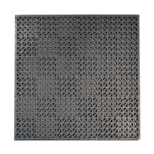 Recycled Leather Floor Tiles Interlocking Tile Garage Flooring The Home Depot