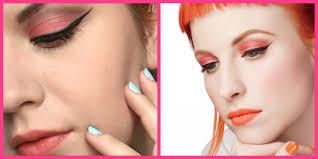 ružové líčenie inšpirované hayley williams pink hayley williams inspired make up look