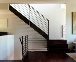 Modern Handrail modernstairrailingstaircasemodernwithbanisterdarkfloor 1879 by xevi.us
