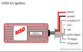 msd ignition wiring diagram ford images msd 6al wiring msd 6a ignition control megasquirt ii