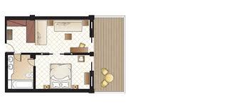 Family Resort Bali  Family Connecting Rooms  Holiday Inn Bali BenoaFamily Room Floor Plan