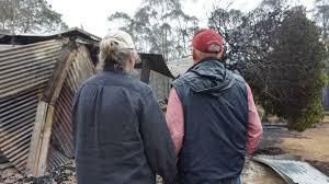Blazzes Hair Design Thirroul Australian Couple Returns Home To Find Smoking Ruin Where