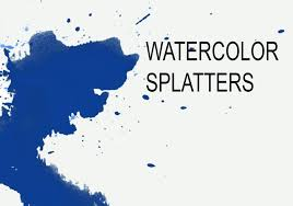 free watercolor brushes illustrator watercolor splatters free photoshop brushes at brusheezy