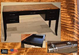 home home office amish curly maple desk amish built home office