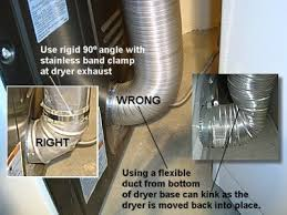 dryer vent hook up. Exellent Hook How To Thoroughly Clean A Dryer Vent For Effective Performance Reassemble  Ducting Putting It All Back Together On Hook Up N