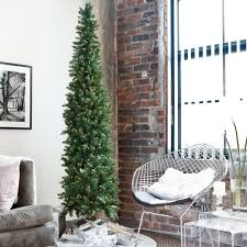 Classic Pine Pre-lit Pencil Christmas Tree | Hayneedle