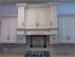 Glazed White Kitchen Cabinets Antique White Kitchen Cabinets With Glaze Home Design Ideas