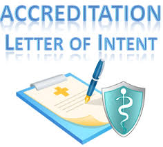 Accreditation Letter Of Intent (Loi) Template | Library